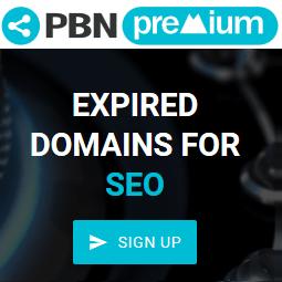 PBN Premium : Nom de domaines expirés sans enchères !