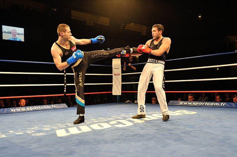 boxe française démonstration