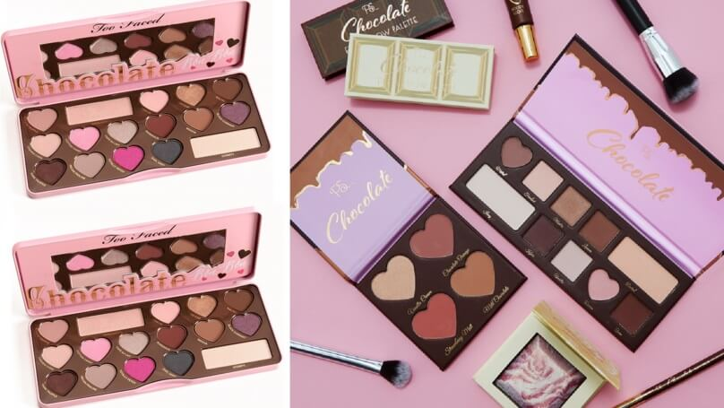 Make-Up aux couleurs de chocolats chez Primark