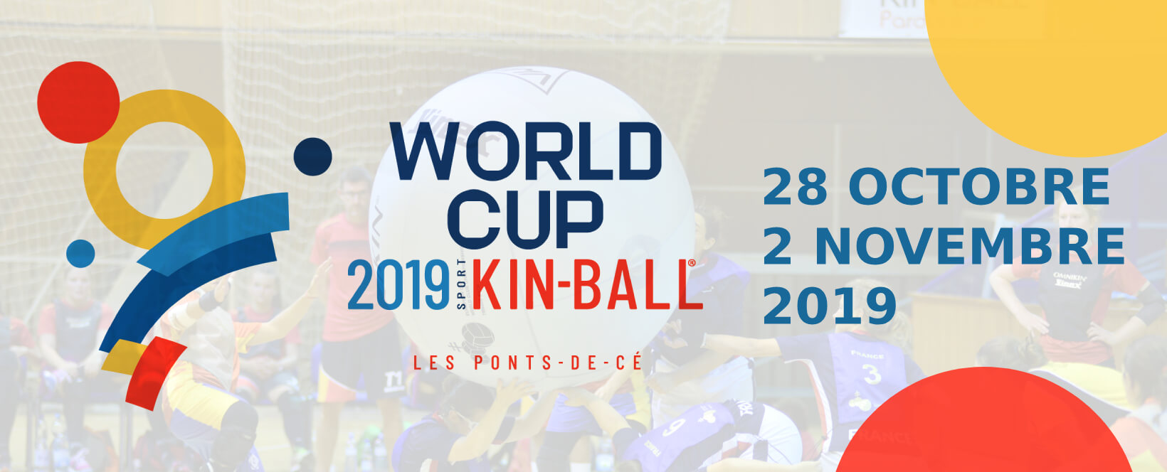 dates coupe du monde de sport Kin-Ball 2019