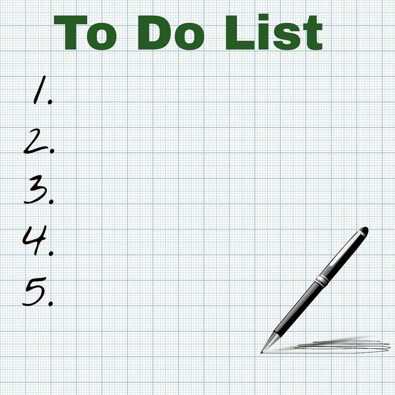 liste taches
