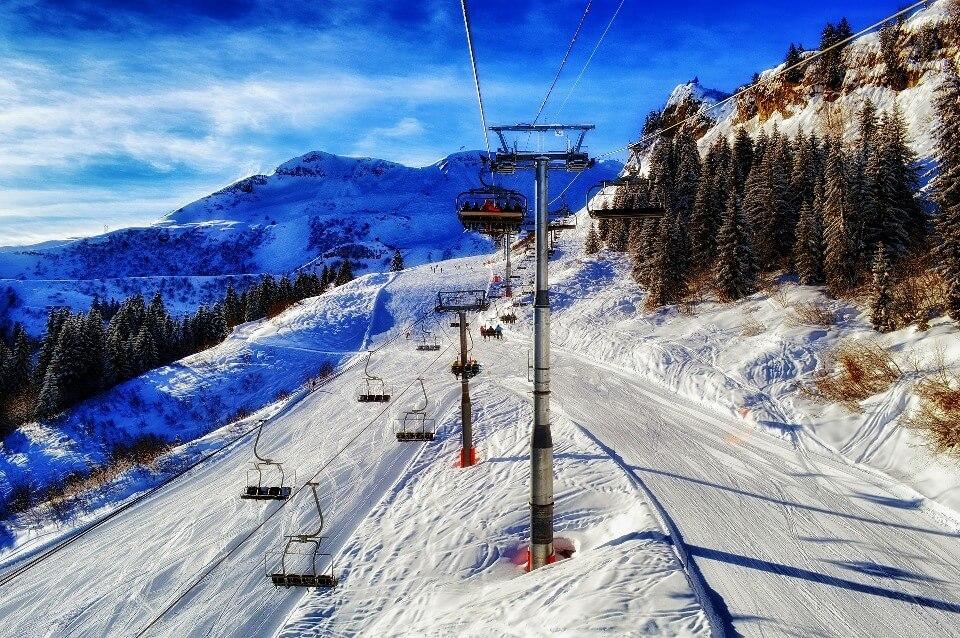 sejour ski dans les alpes