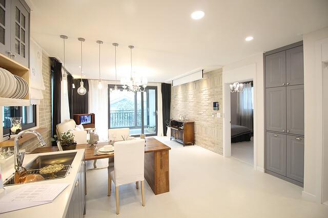 eclairage moderne maison