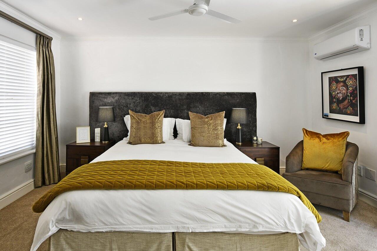 chambre avec air conditionne